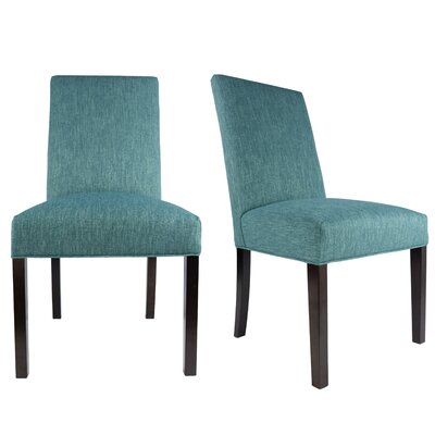 Lloyd Upholstered Contemporary Parsons Chair Upholstery: Zenith Teal