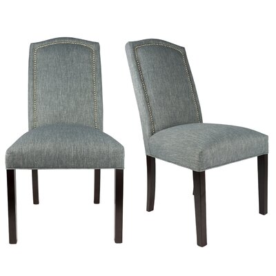 Shelton Upholstered Contemporary Parsons Chair Uphostery: Denim Blue