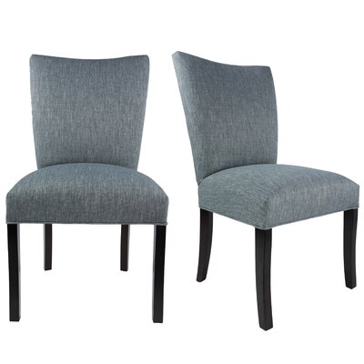 Tatianna Upholstered Contemporary Parsons Chair Upholstery: Ash