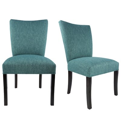 Lager Head Upholstered Contemporary Parsons Chair Uphostery: Teal