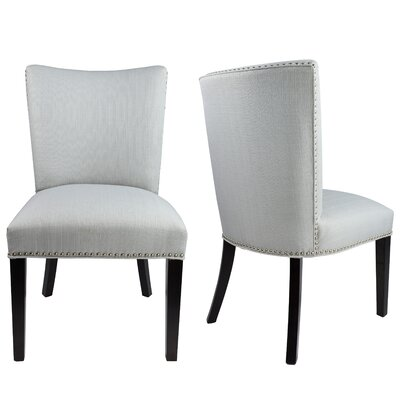 Sydny Concave Back Upholstered Parsons Chair