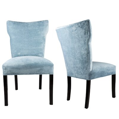 Cresson Wing Back Upholstered Parsons Chair