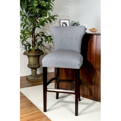 Dougherty 31 Bar Stool Upholstery: Metal