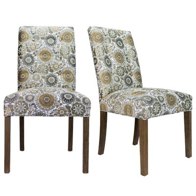 Cassian Sky Dive Cork Upholstered Dining Chair