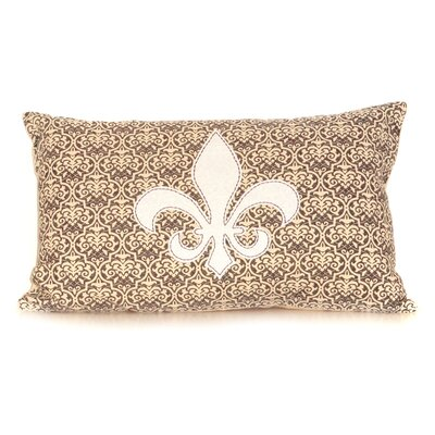 Fleur Cotton Throw Pillow