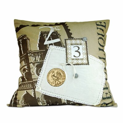Libera Cotton Throw Pillow