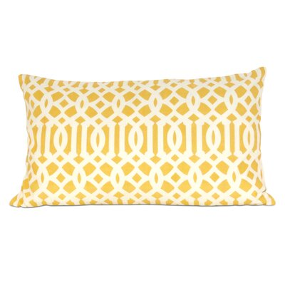 Arabesque Cotton Lumbar Pillow