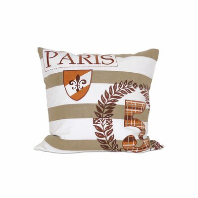 Laurel Cotton Throw Pillow