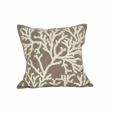 Coralyn Cotton Throw Pillow