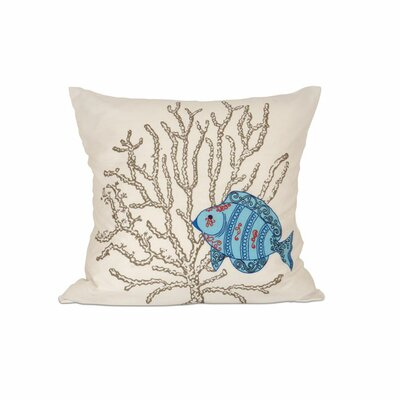 Mediterranea Cotton Throw Pillow