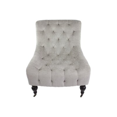 Brenton Slipper Chair Upholstery: Dove