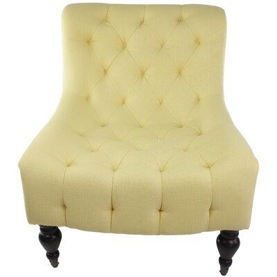Brenton Slipper Chair Color: Klein Sesame