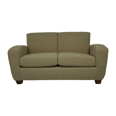 Scandic Ultra Lightweight Loveseat Upholstery: Dune