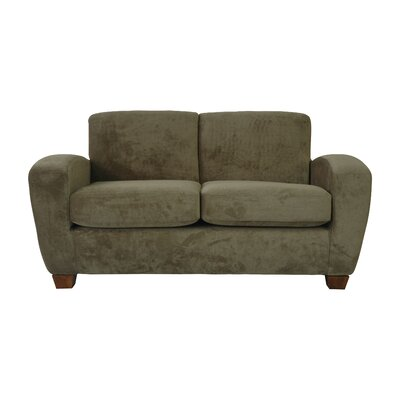 Scandic Ultra Lightweight Loveseat Upholstery: Platinum