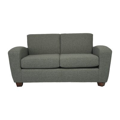 Scandic Ultra Lightweight Loveseat Upholstery: Felt Gray
