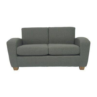 Scandic Ultra Lightweight Loveseat Upholstery: Charcoal