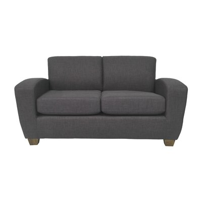 Scandic Ultra Lightweight Loveseat Upholstery: Blackberry