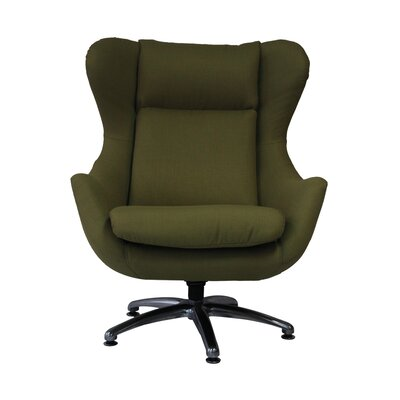 Commander Wing back Chair Upholstery: Kiwi