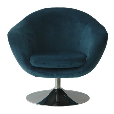 Comet Disc Base Bella Barrel Chair Color: Bayox