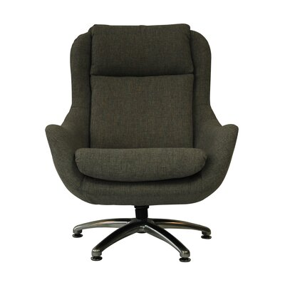 Jupiter Wing back Chair Color: Felt Gray