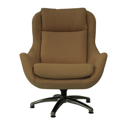 Jupiter Wing back Chair Color: Golden
