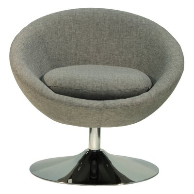 Overman Disc Base Astro Barrel Chair Color: Light Gray