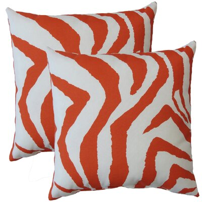Premiere Home Zebra Indoor/Outdoor Throw Pillow