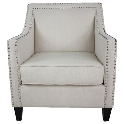 Westminster Armchair Body Color: Ivory