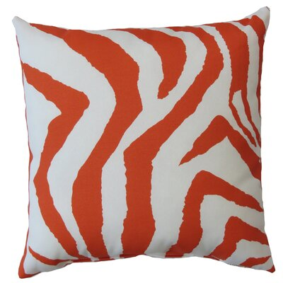 Zebra Indoor/Outdoor Throw Pillow