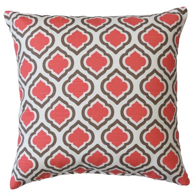 Curtis Cotton Throw Pillow Color: Medallion