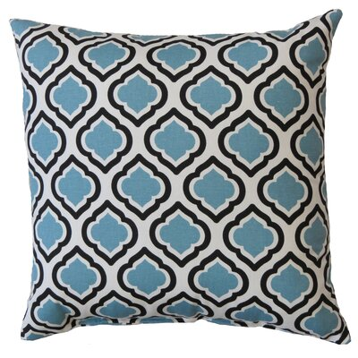Curtis Cotton Throw Pillow Color: Regatta