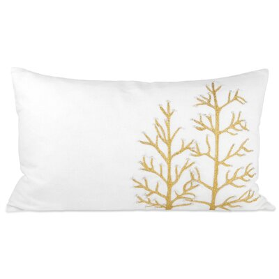 Winter Glitter Lumbar Pillow