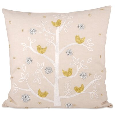 Holiday Partridge Throw Pillow