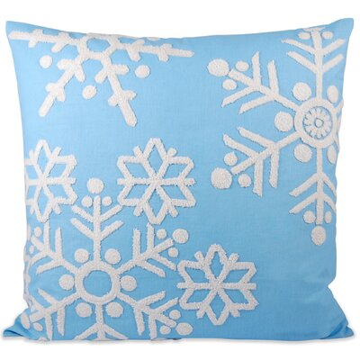 Malibu Snow Throw Pillow