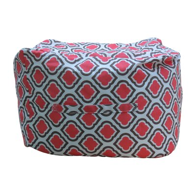 Premiere Home Curtis Pouf Upholstery: Medallion