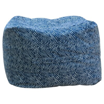 Premiere Home Pouf Upholstery: Navy