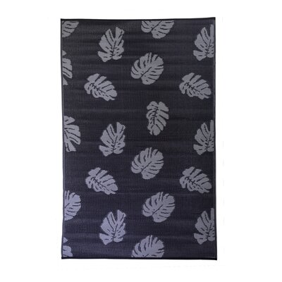 Premier Home Hand-Woven Black/Gray Indoor/Outdoor Area Rug