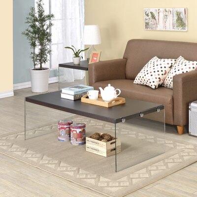 Millenial Coffee Table Top Color: Brown