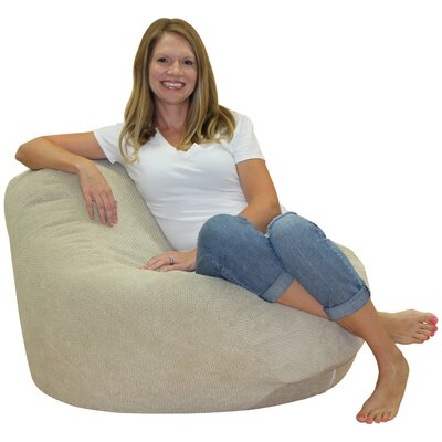 Chris Primo Bean Bag Chair Upholstery: Buckwheat