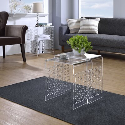 2 Piece Honeycomb Nesting Tables