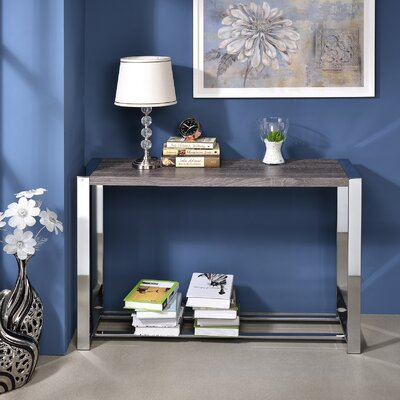 Lauritz Console Table Finish: Gray