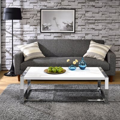 Lauritz Coffee Table Top Color: White