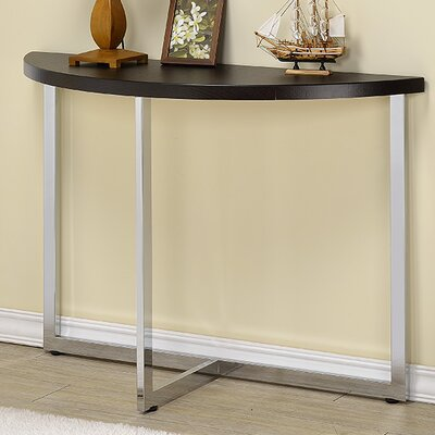 Millenial Console Table Finish: Chrome