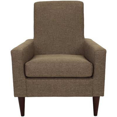 Charleson Armchair Upholstery: Pecan