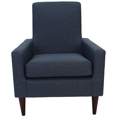 Charleson Armchair Upholstery: Navy Blue