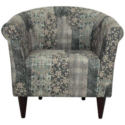 Haley Barrel Chair Upholstery: Smoke