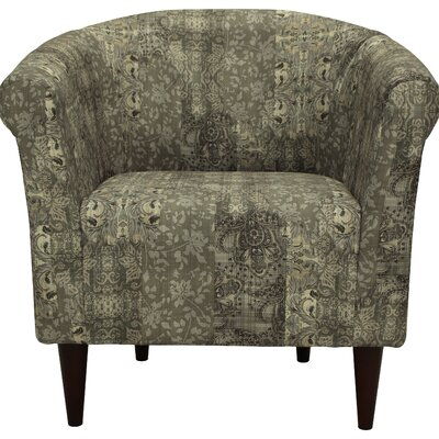 Haley Barrel Chair Upholstery: Pewter