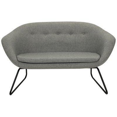 Cessnock Tufted Settee Upholstery: Felt Gray
