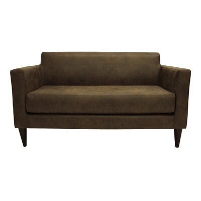 Ceti Tufted Settee Upholstery: Bandero Stout