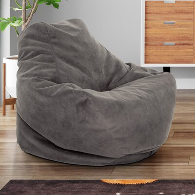 Soft Sided Bean Bag Lounger Upholstery: Mocha